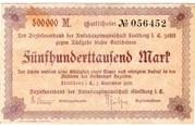 500,000 Mark (Amtshauptmannschaft Stollberg) – avers