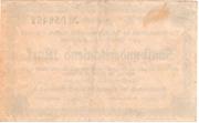 500,000 Mark (Amtshauptmannschaft Stollberg) – revers