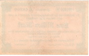 1,000,000 Mark (Amtshauptmannschaft Stollberg) – revers