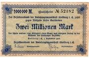 2,000,000 Mark (Amtshauptmannschaft Stollberg) – avers