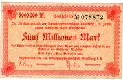 5,000,000 Mark (Amtshauptmannschaft Stollberg) -  avers