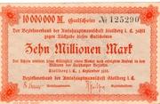 10,000,000 Mark (Amtshauptmannschaft Stollberg) – avers