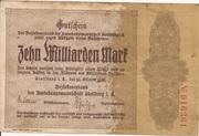 10,000,000,000 Mark (Amtshauptmannschaft Stollberg) – avers
