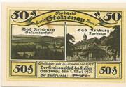 50 Pfennig (Stolzenau) – avers