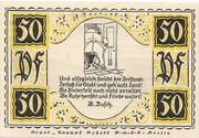 50 Pfennig (Stolzenau) – revers