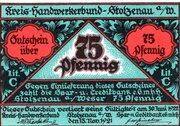 75 Pfennig (Kreis-Handwerkerbund) – avers