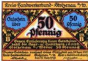 50 Pfennig (Kreis-Handwerkerbund) – avers