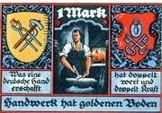 1 Mark (Kreis-Handwerkerbund) – revers
