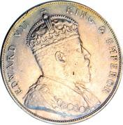1 dollar - Edward VII – avers