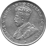 50 cents - George V – avers