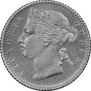 ¼ cent - Victoria (essai) – avers