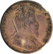 1 Dollar - Edward VII (essai) – avers