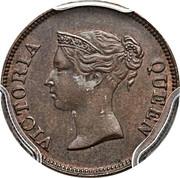 ¼ cent - Victoria – avers
