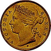 10 Cents - Victoria (essai) – avers