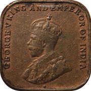 1 cent - George V -  avers