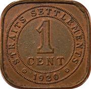 1 cent - George V -  revers