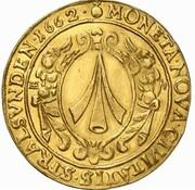 6 ducats – avers