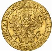 6 ducats – revers