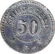 50 pfennig - Stralsund – revers