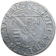 3 kreuzer Charles de Lorraine Vaudémont – avers