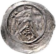 1 Pfennig - Bertold von Teck – avers