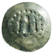 1 denier embouti de Strasbourg Konrad III. de Lichtenberg – revers