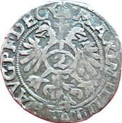 2 kreuzer Jean IV de Manderscheid-Blankenheim – revers