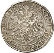 1 Thaler - Johann von Manderscheid-Blankenheim – revers