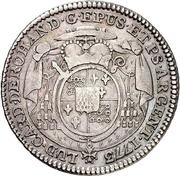 20 Kreuzer - Louis Constantin von Rohan-Guéménée – avers