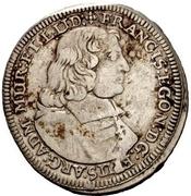 1 Gulden - Franz Egon von Fürstenberg-Heiligenberg – avers