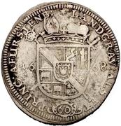 1 Gulden - Franz Egon von Fürstenberg-Heiligenberg – revers