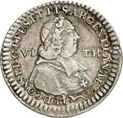 ⅙ Thaler - Ludwig Constantin von Rohan-Guéménée – avers