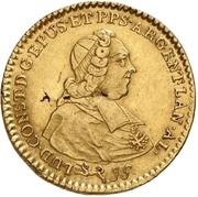 1 Constantin d'or - Ludwig Constantin von Rohan-Guéménée – avers
