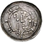 1 Pfennig - Kuno – avers