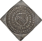 ½ Thaler (100 years of Reformation; Klippe) – avers