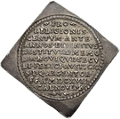 ½ Thaler (100 years of Reformation; Klippe) – revers