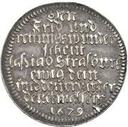 1 Ducat (Silver pattern strike; Peace of Nijmegen) – revers