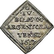 1 Ducat (Centennial of the reformation; Silver pattern strike) – avers