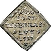 1 Ducat (Centennial of the reformation; Silver pattern strike) – revers