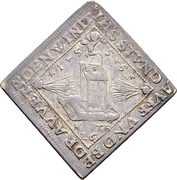 1 Ducat (Centenary of the Peace of Passau; Silver pattern strike) – avers
