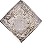 1 Ducat (Centenary of the Peace of Passau; Silver pattern strike) – revers