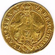 1 florin d'or – avers