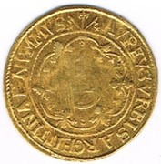 1 florin d'or – revers