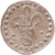 1 Pfennig au Lis et à l'Écu – avers