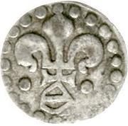 1 pfennig au lis de Strasbourg (Lilienpfennig) – avers