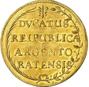 3 ducats – revers
