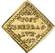 1 ducat (Centennaire de la réformation; Klippe) – revers
