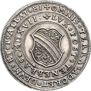 1 Thaler (100 years of Reformation) – avers