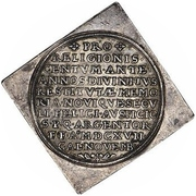 1 Thaler (100 years of Reformation; Klippe) – revers