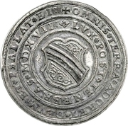 3 Thaler (100 years of Reformation) – avers